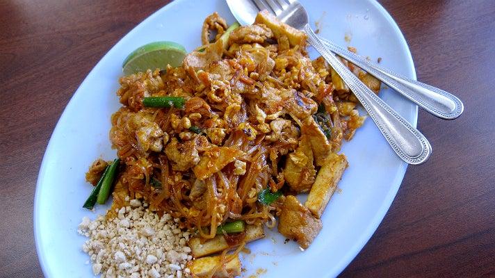 Pad Thai at Pa Ord Noodle